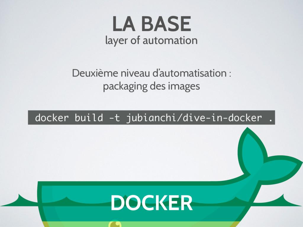 LA BASE layer of automation Deuxième niveau d'a...