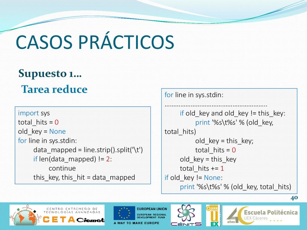 Supuesto 1… Tarea reduce CASOS PRÁCTICOS 40 imp...