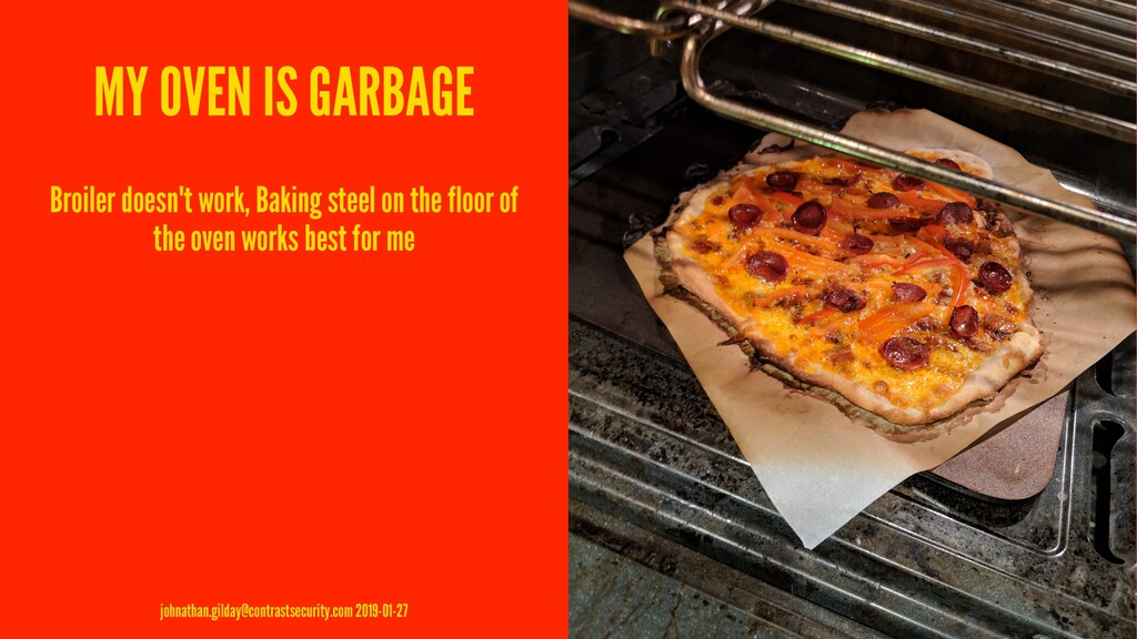 MY OVEN IS GARBAGE Broiler doesn't work, Baking...