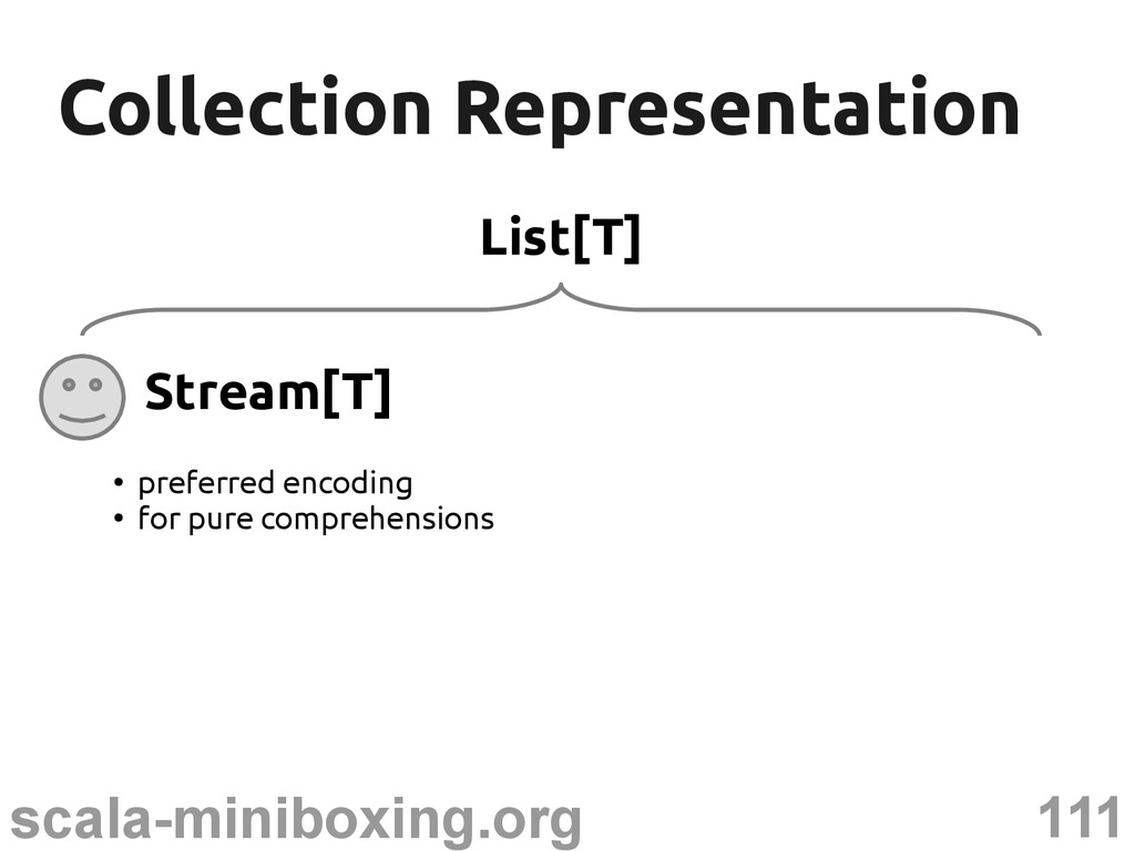 111 scala-miniboxing.org Collection Representat...