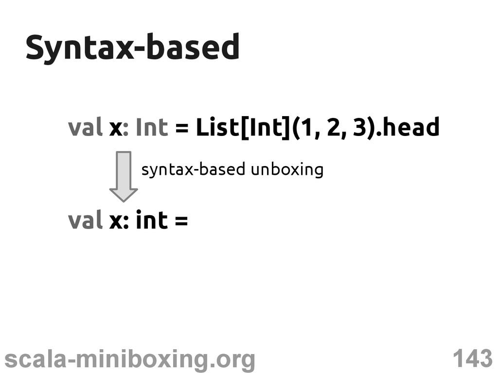 143 scala-miniboxing.org Syntax-based Syntax-ba...