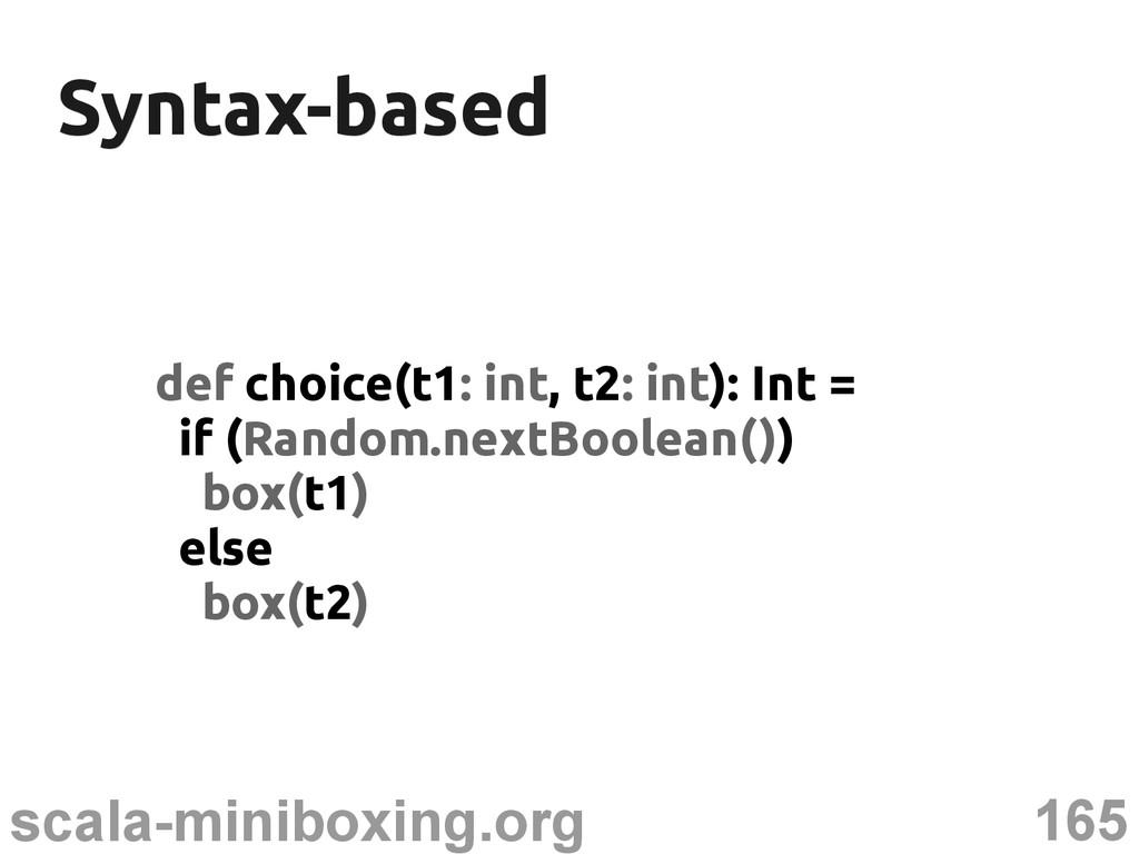 165 scala-miniboxing.org Syntax-based Syntax-ba...