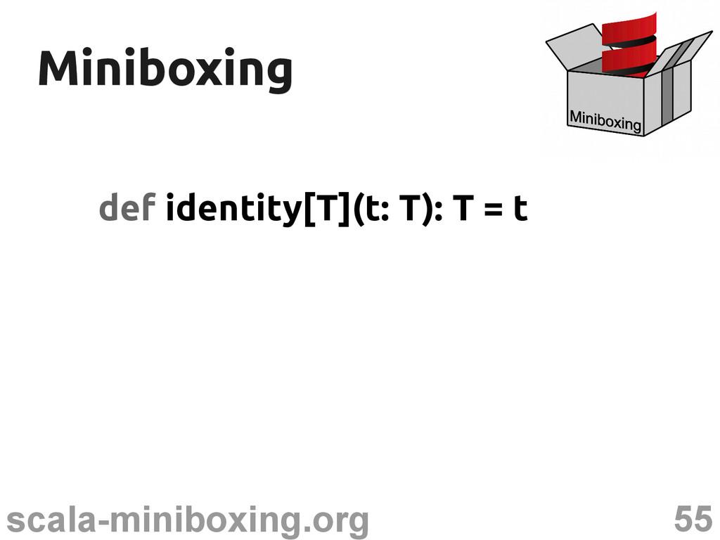 55 scala-miniboxing.org Miniboxing Miniboxing d...