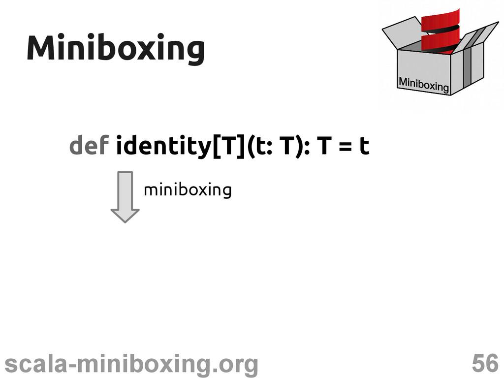 56 scala-miniboxing.org Miniboxing Miniboxing d...