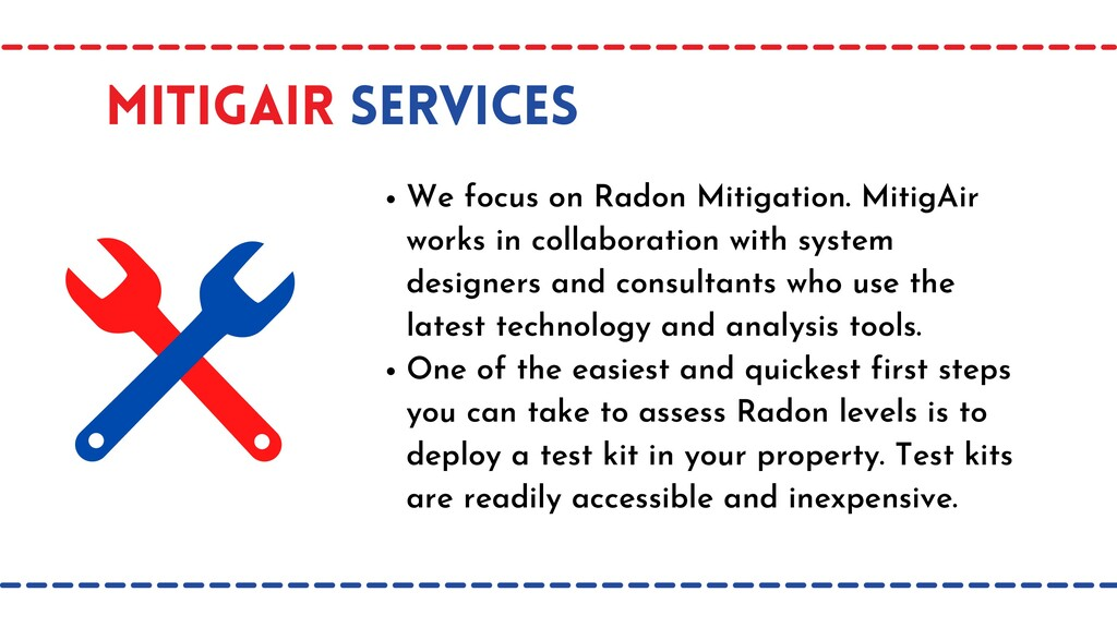 MItigAir Services We focus on Radon Mitigation....