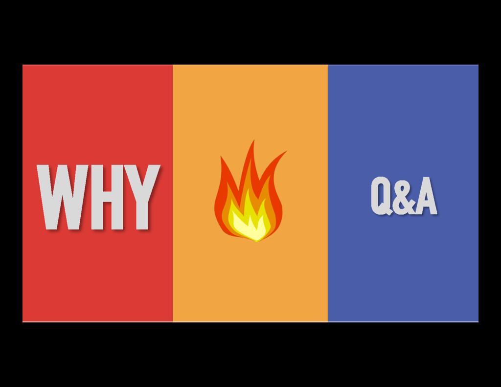 WHY Q&A