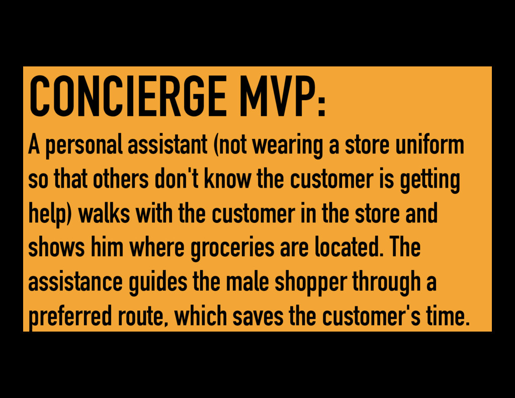 CONCIERGE MVP: A personal assistant (not wearin...