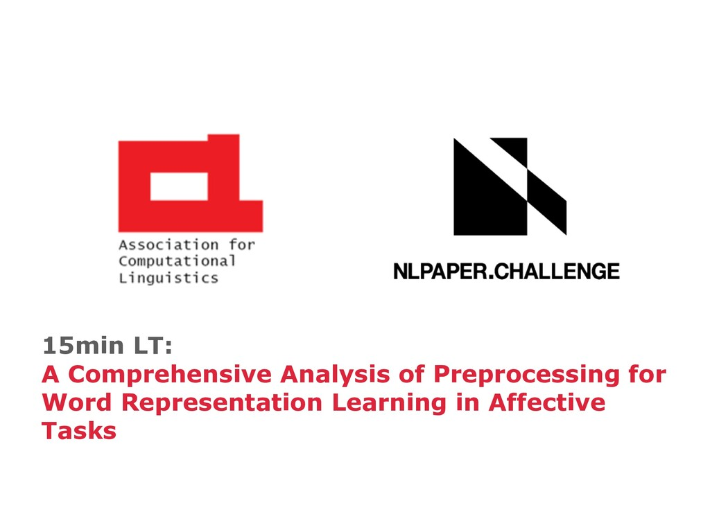 15min LT: A Comprehensive Analysis of Preproces...