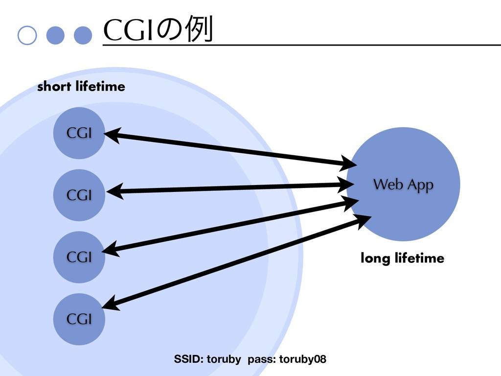 CGIͷྫ SSID: toruby pass: toruby08 CGI Web App C...