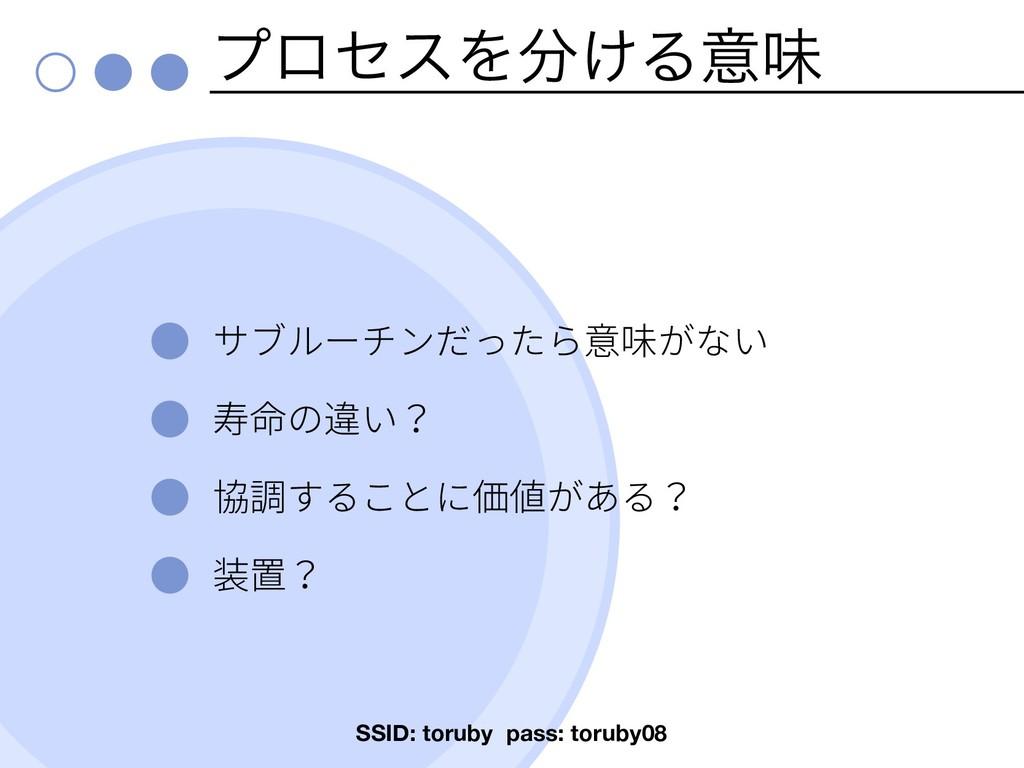 ϓϩηεΛ͚Δҙຯ SSID: toruby pass: toruby08