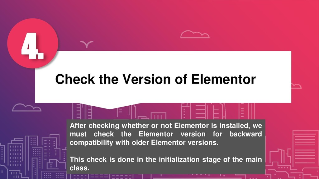 Check the Version of Elementor 4. After checkin...