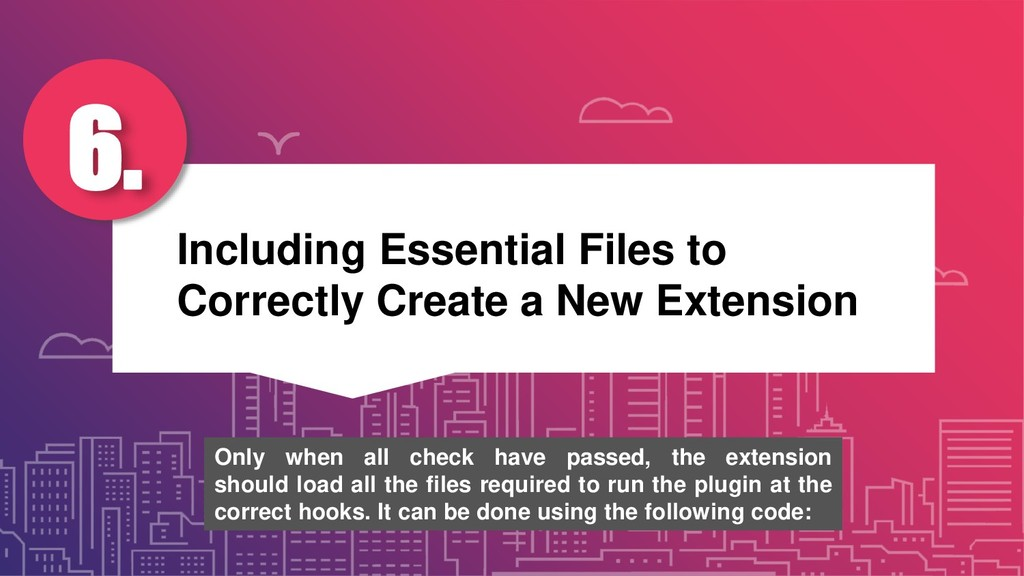 Including Essential Files to Correctly Create a...