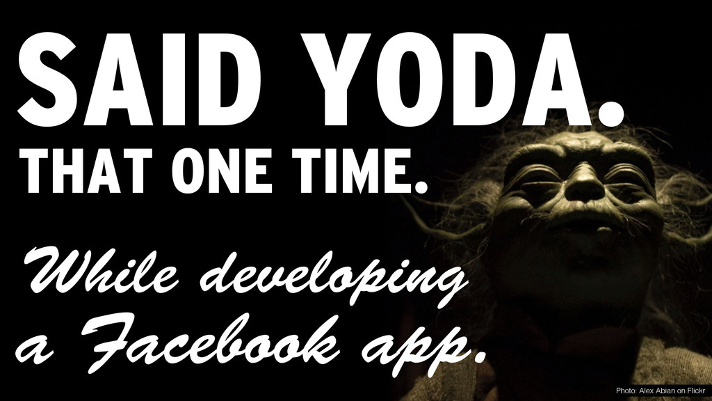 While developing SAID YODA. Photo: Alex Abian o...