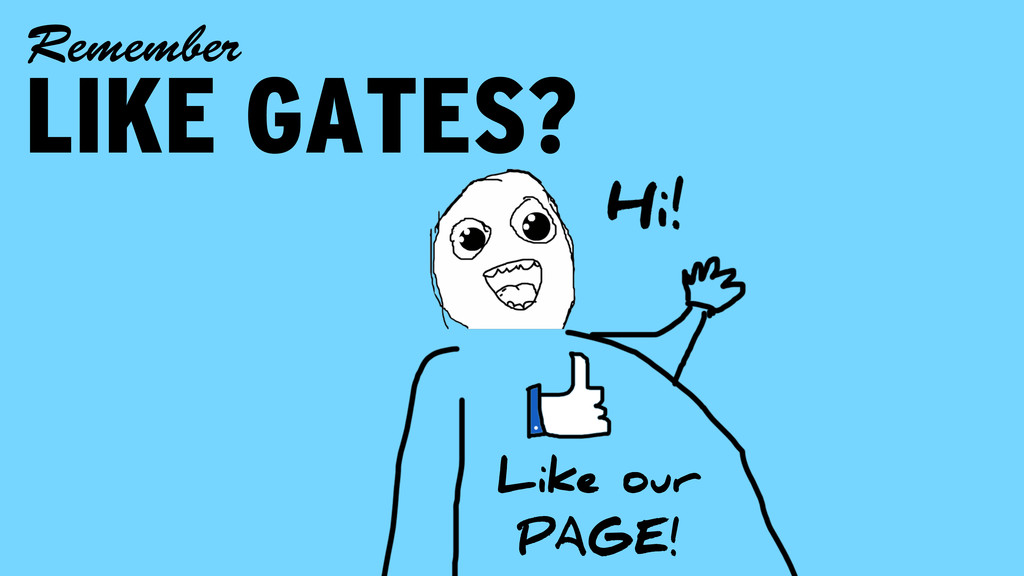 LIKE GATES? Remember Like our PAGE!