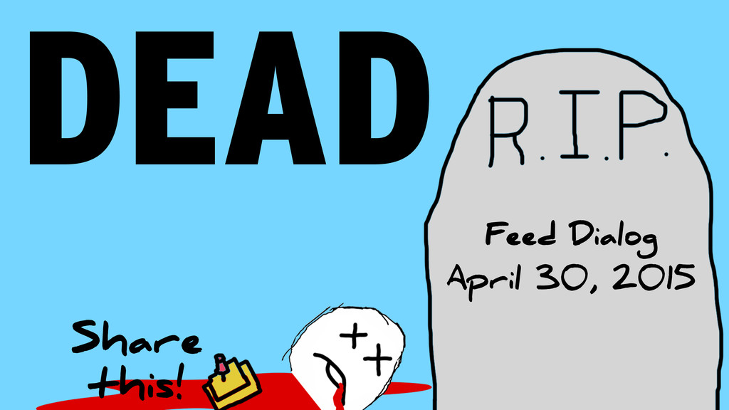 DEAD Feed Dialog April 30, 2015 Share this!