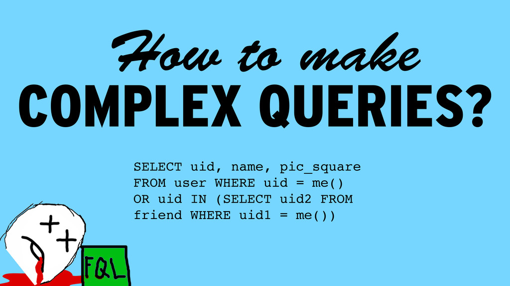 COMPLEX QUERIES? How to make SELECT uid, name, ...