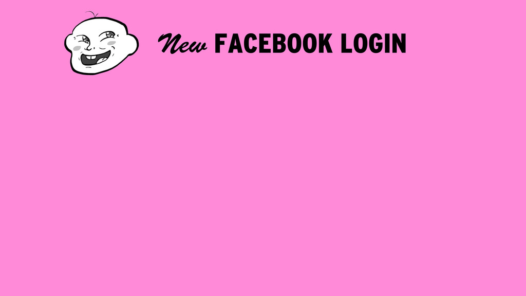 FACEBOOK LOGIN New