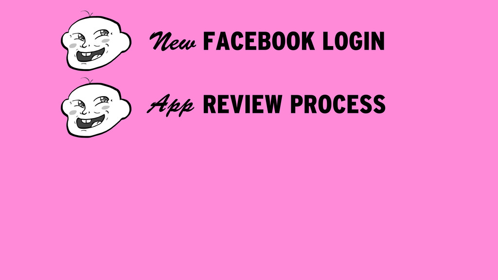FACEBOOK LOGIN New REVIEW PROCESS App