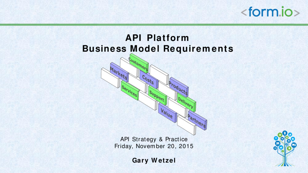 API Strategy & Practice Friday, November 20, 20...