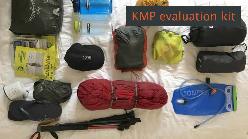 KMP evaluation kit