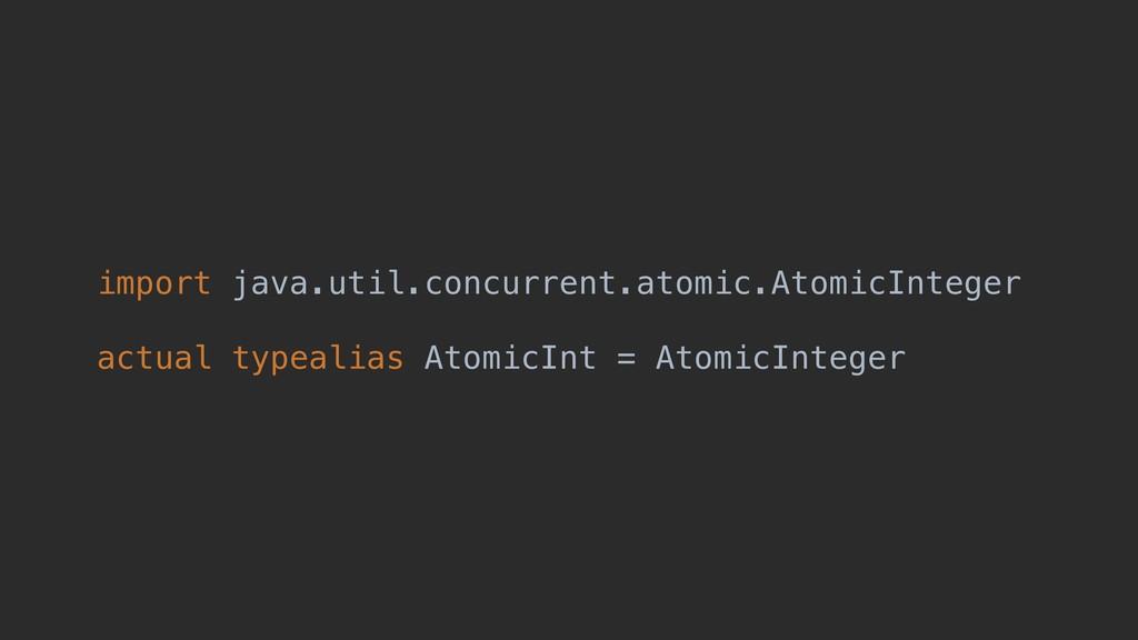 import java.util.concurrent.atomic.AtomicIntege...