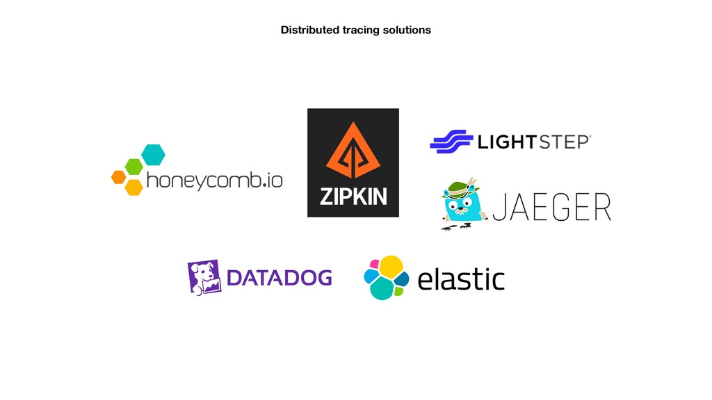 Distributed tracing solutions