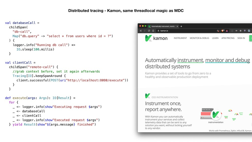 Distributed tracing - Kamon, same threadlocal m...