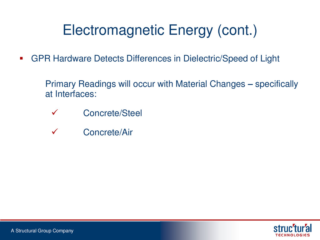 A Structural Group Company Electromagnetic Ener...