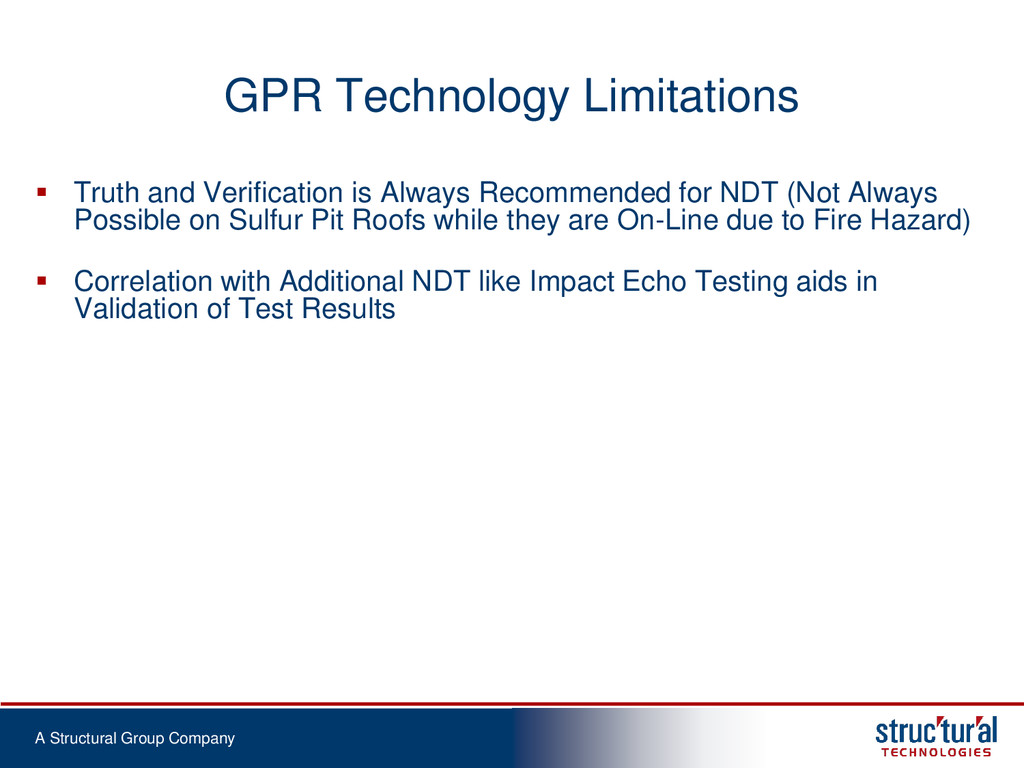 A Structural Group Company GPR Technology Limit...