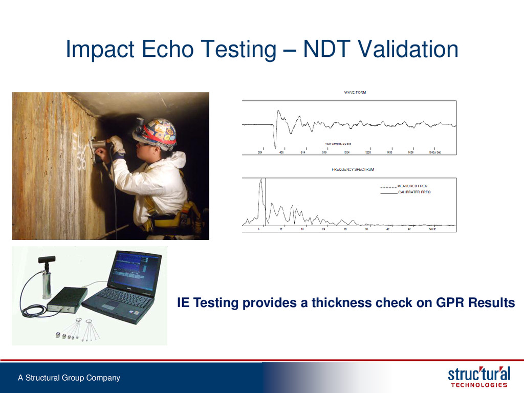 A Structural Group Company Impact Echo Testing ...