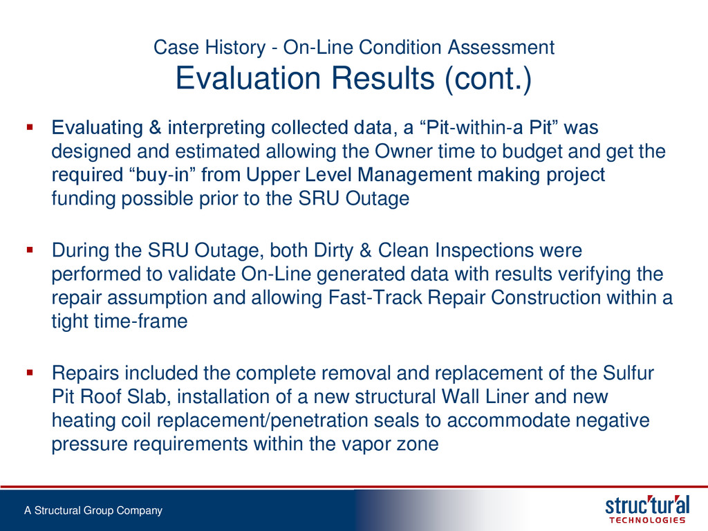 A Structural Group Company Case History - On-Li...