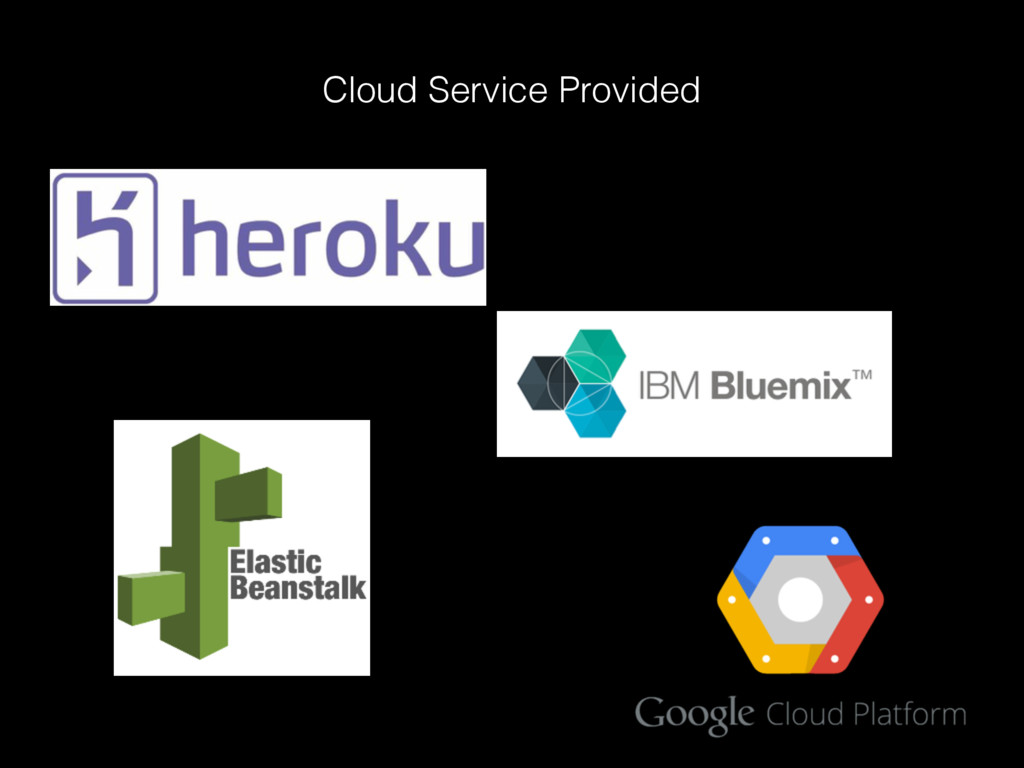 Cloud Service Provided