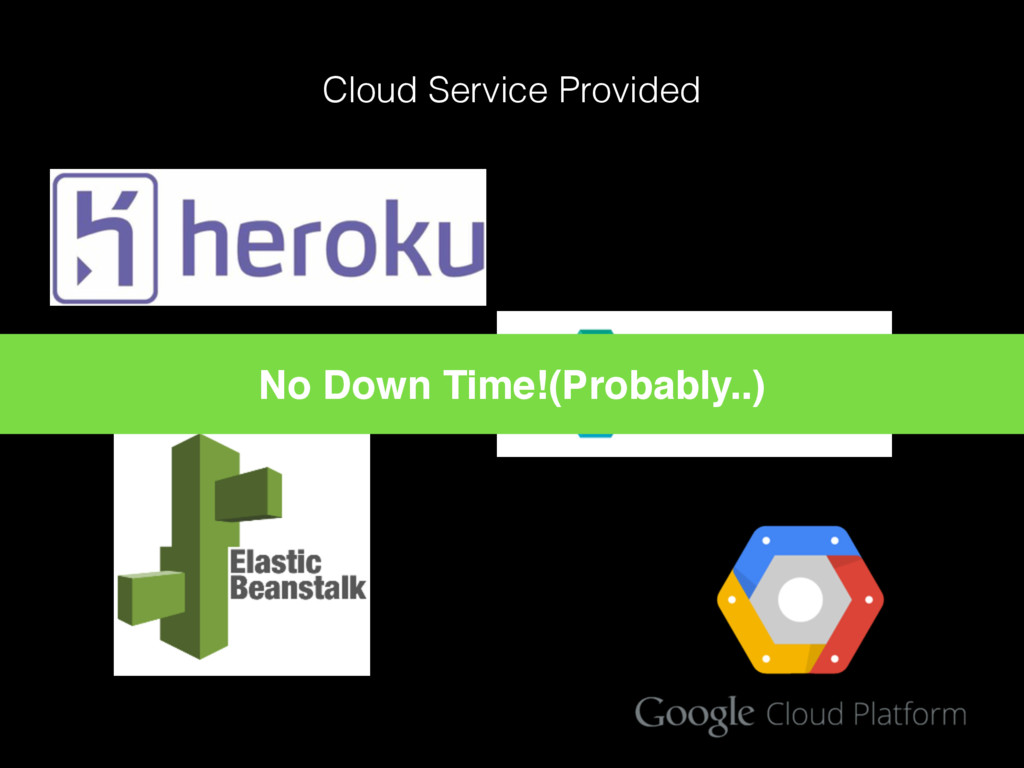 Cloud Service Provided No Down Time!(Probably..)
