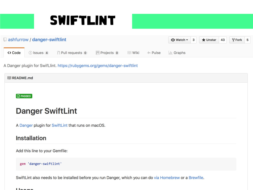 SWIFTLINT