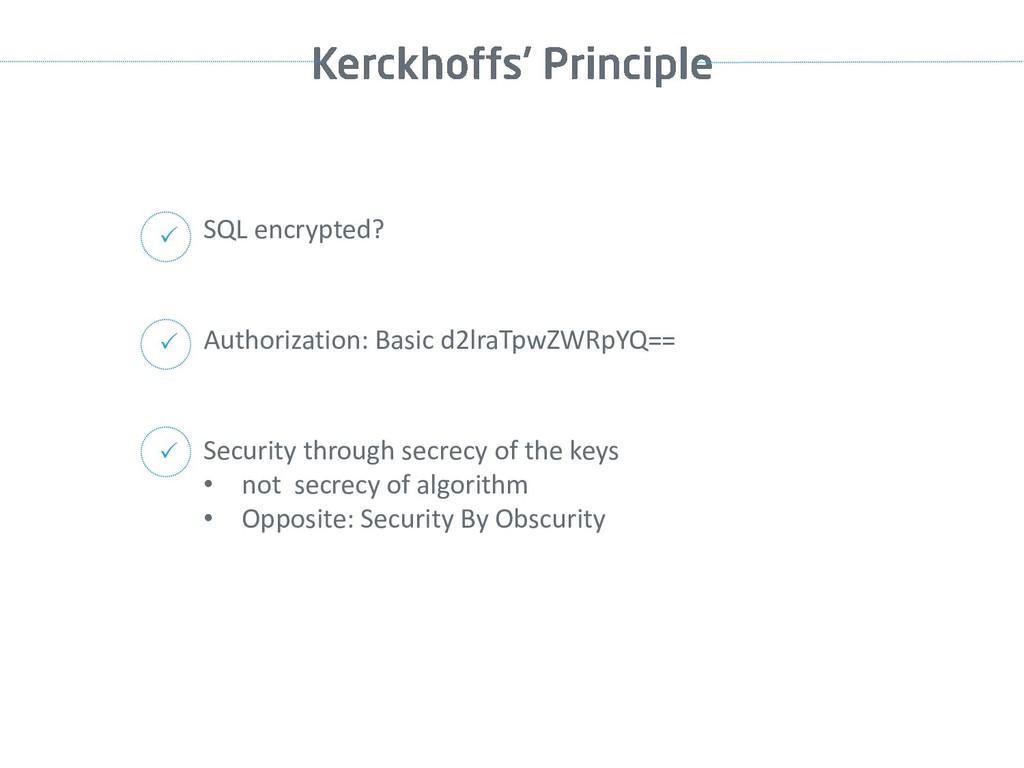 SQL encrypted?  Authorization: Basic d2lraTpwZ...