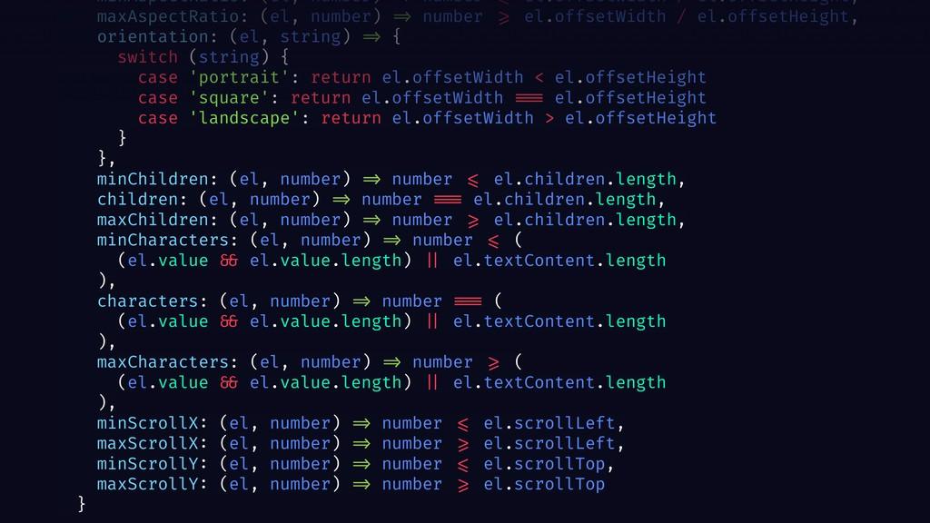 minAspectRatio: (el, number) => number <= el.of...
