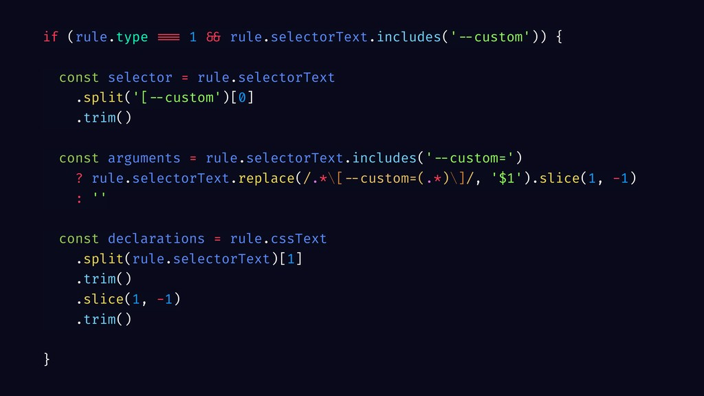 if (rule.type === 1 && rule.selectorText.includ...