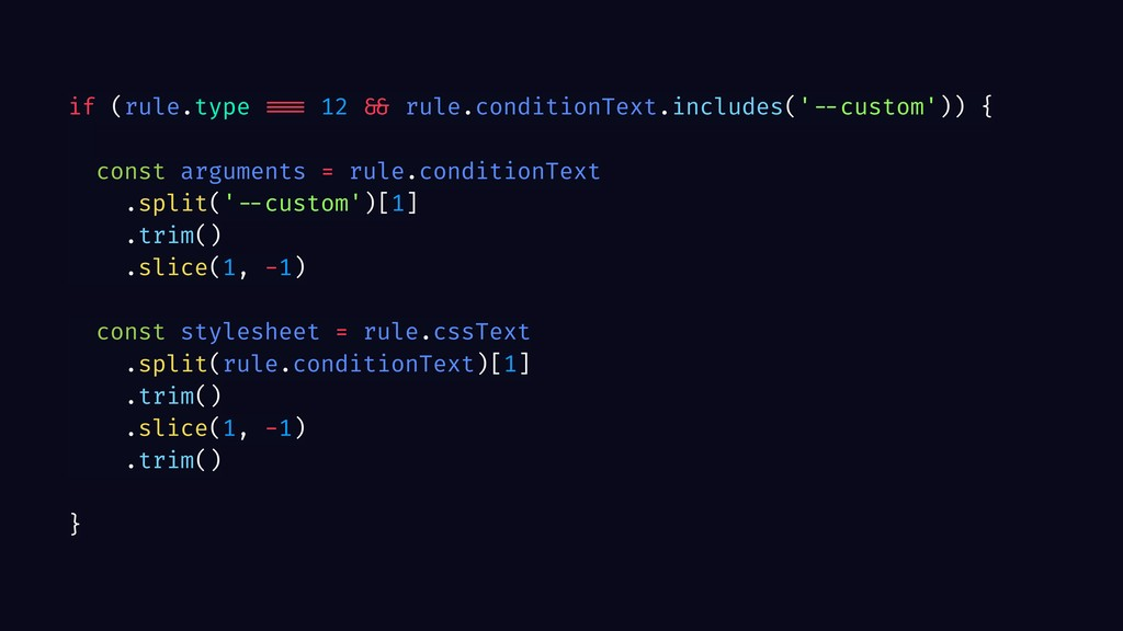 if (rule.type === 12 && rule.conditionText.incl...