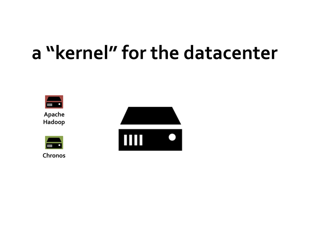 """a """"kernel"""" for the datacenter  A..."""