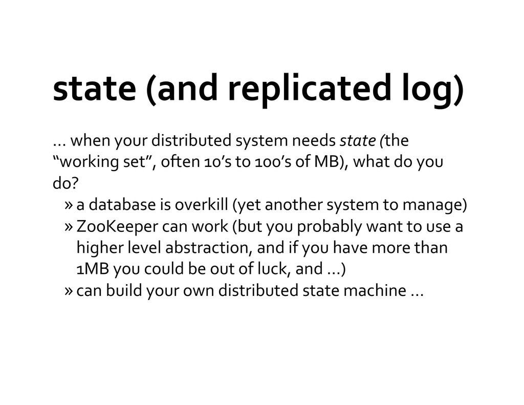 state (and replicated log)  … wh...