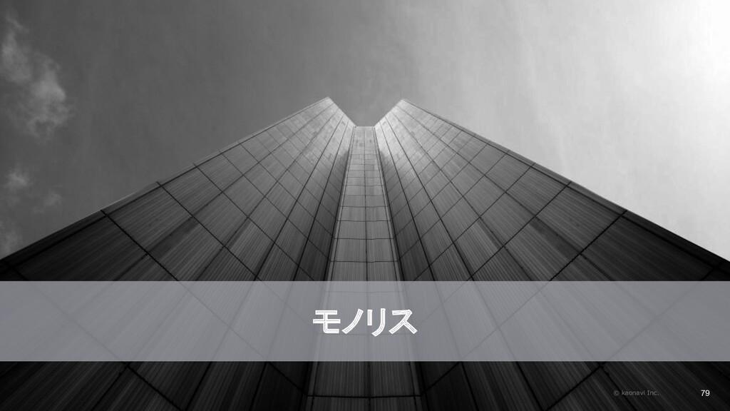 2020/09/19 モノリス © kaonavi Inc. 79