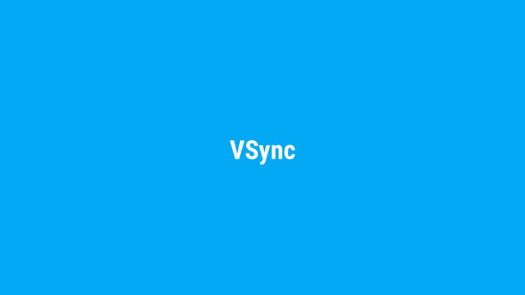 VSync