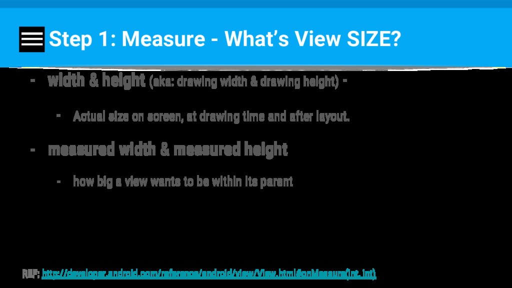 Step 1: Measure - What's View SIZE? - width & h...