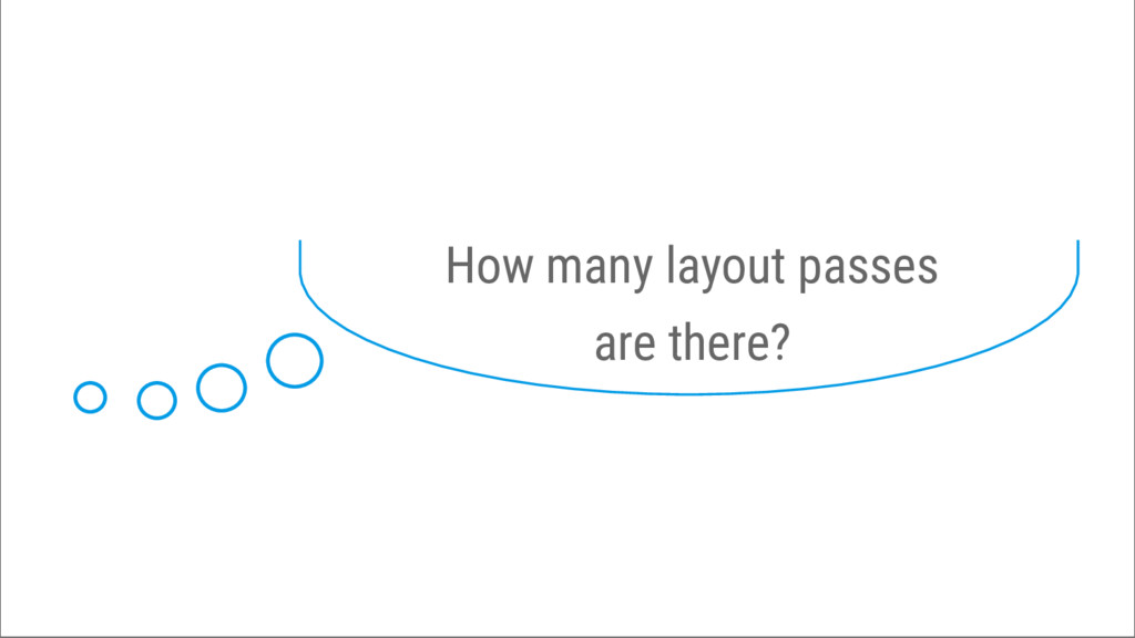 How many layout passes are there?