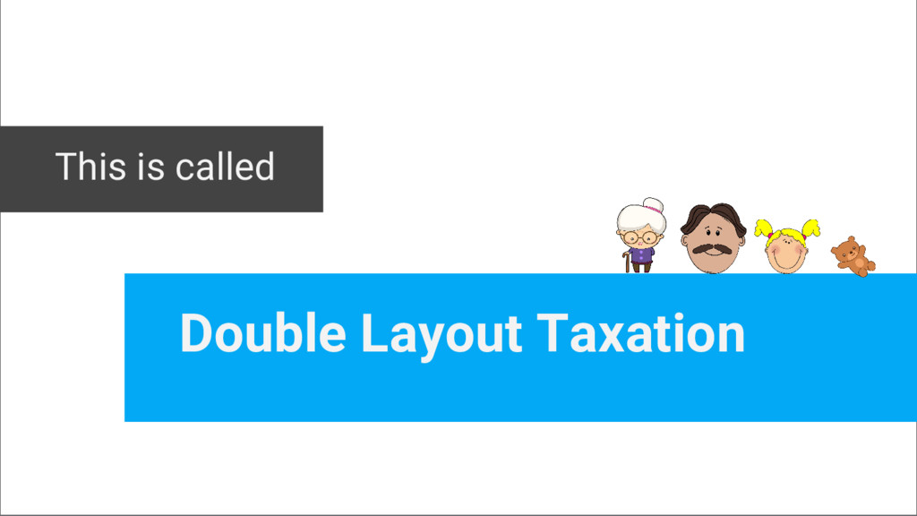 This is called Double Layout Taxation