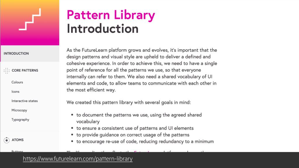 https://www.futurelearn.com/pattern-library
