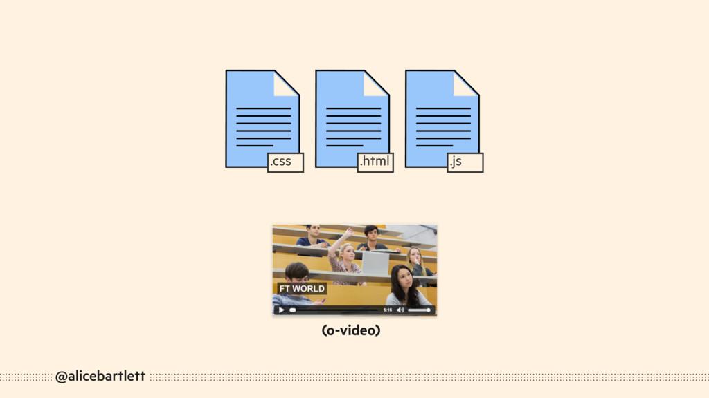 @alicebartlett .js .html .css (o-video)