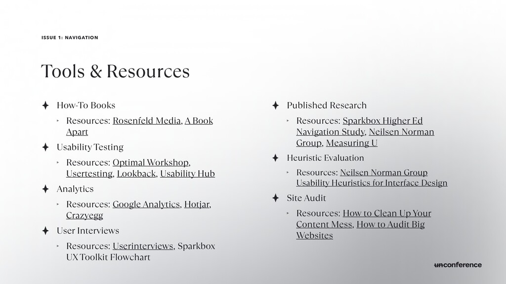 ISSUE 1: NAVIGATION Tools & Resources How-To Bo...