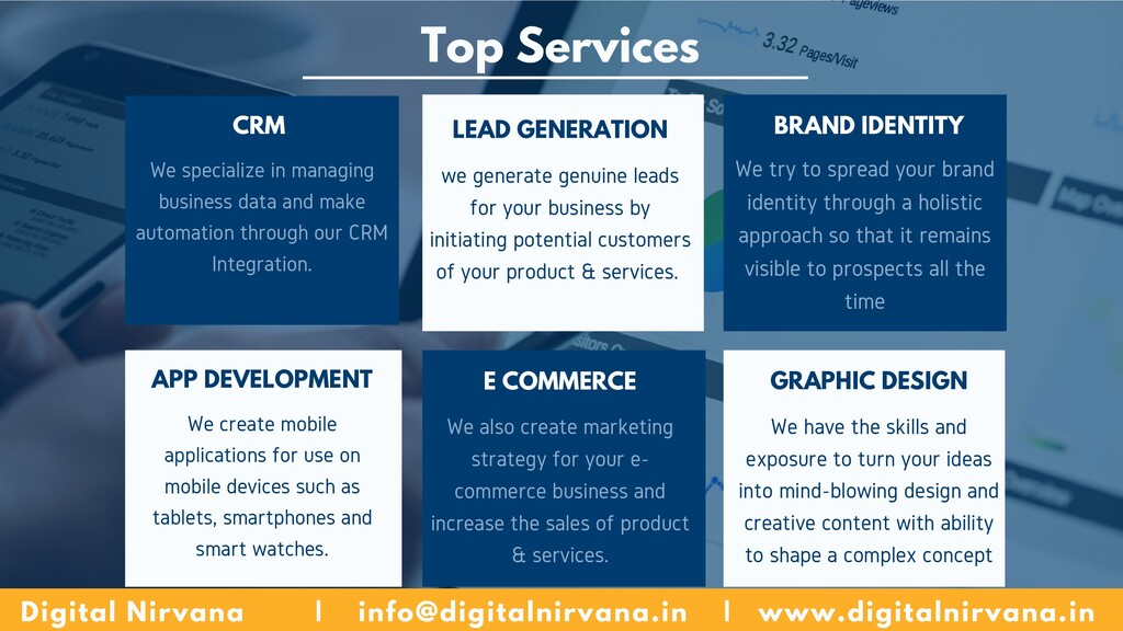 Top Services We specialize in managing business...