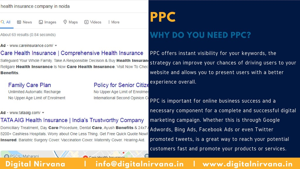 PPC WHY DO YOU NEED PPC? PPC offers instant vis...